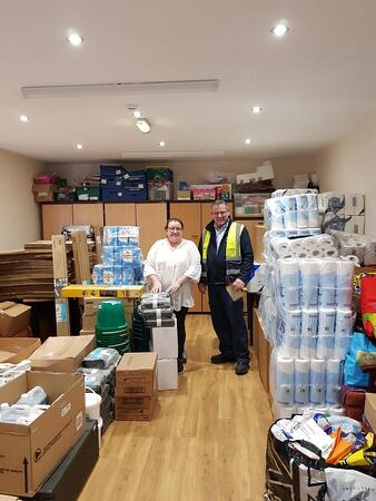 Flood appeal delivery driver