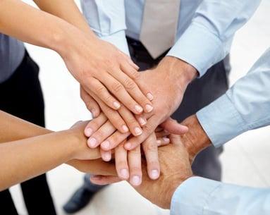 Team-Hands-Together
