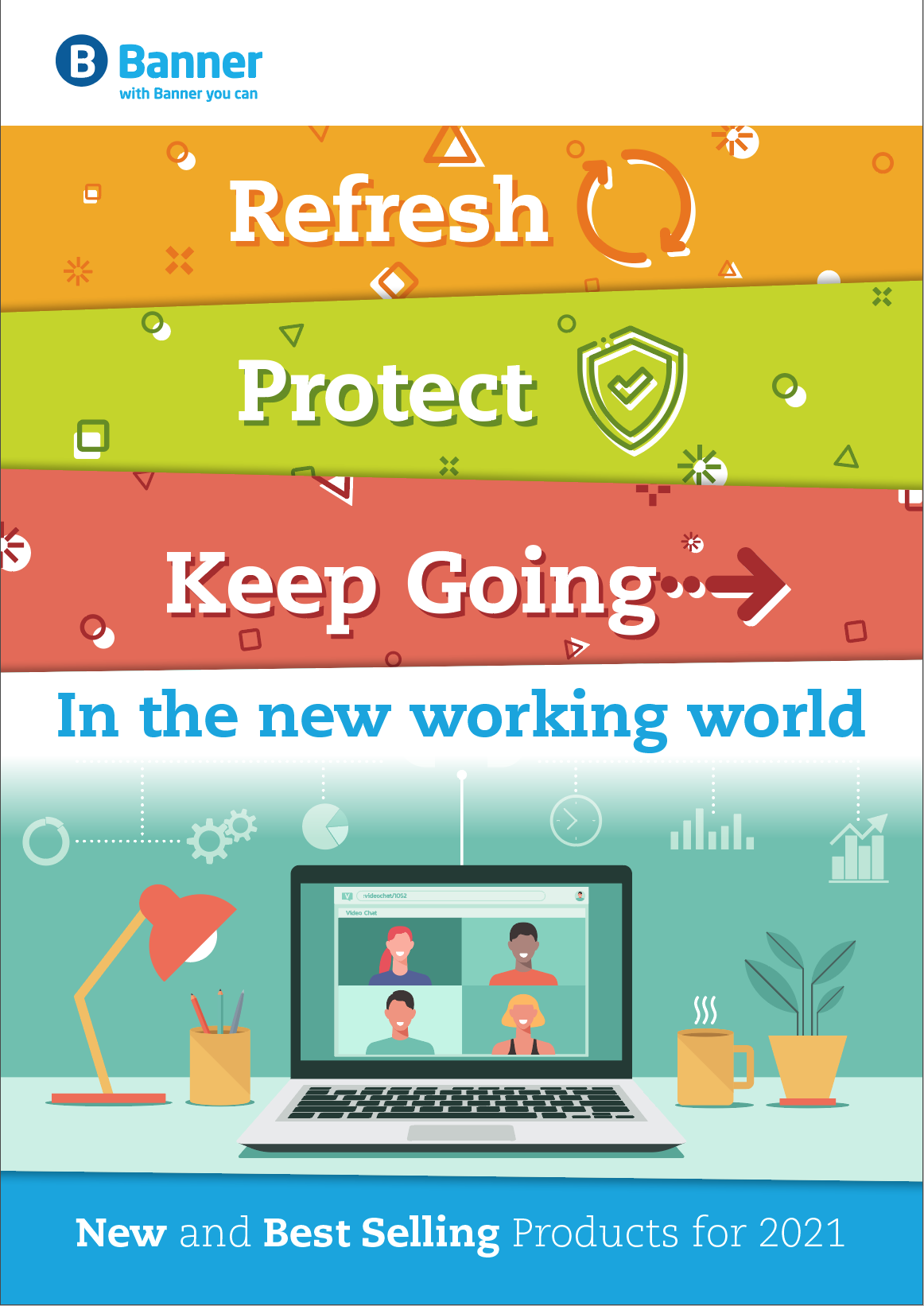 Refresh, Protect and Keep Going Cover