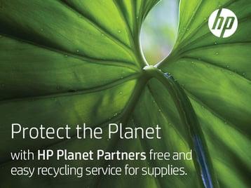 HP Sustainability social tile